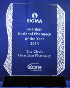 National Pharmacy of the Year 2014