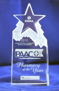 Pharmacy of the year 2015